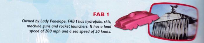 サンダーバード FAB-1