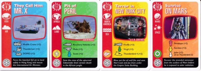 サンダーバード 災害カード
