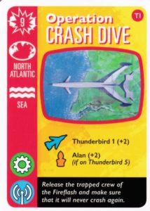 サンダーバード ゲームオーバーになりかけた時の災害カード