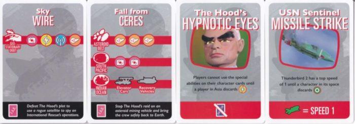 サンダーバード 陰謀カード
