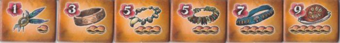 ボラボラ 宝石タイルの画像