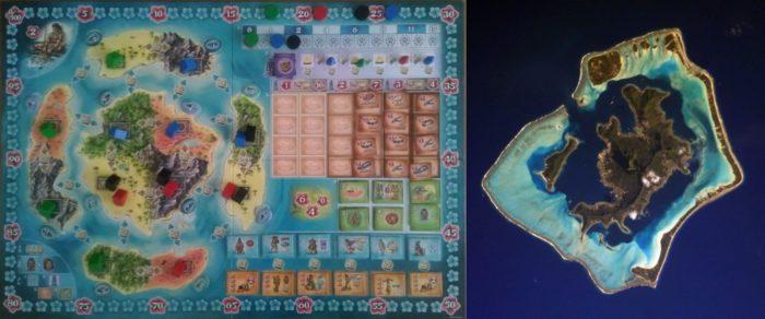ボラボラ ゲームボード