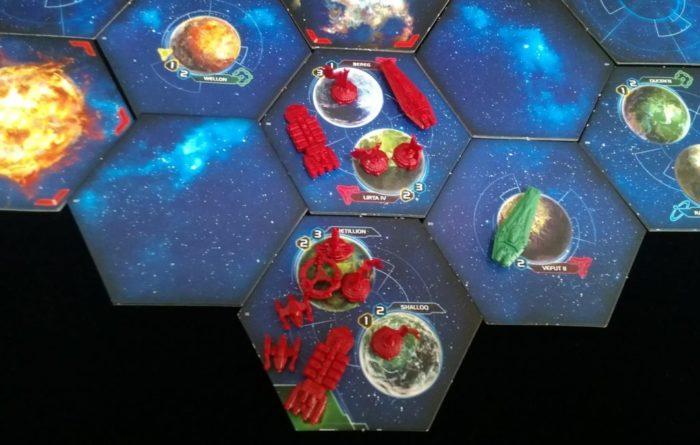 トワイライトインぺリウムⅣ プレイ画面 第1ラウンド