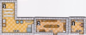 ノイシュヴァンシュタイン城 家事室タイル画像