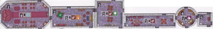 ノイシュヴァンシュタイン城 リビングルームタイルの画像