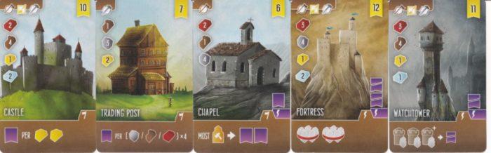 アーキテクツ・オブ・ザ・ウェスト・キングダム 建物カードの画像