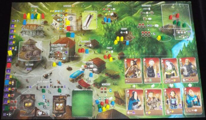 アーキテクツ・オブ・ザ・ウェスト・キングダム ゲームボードの画像