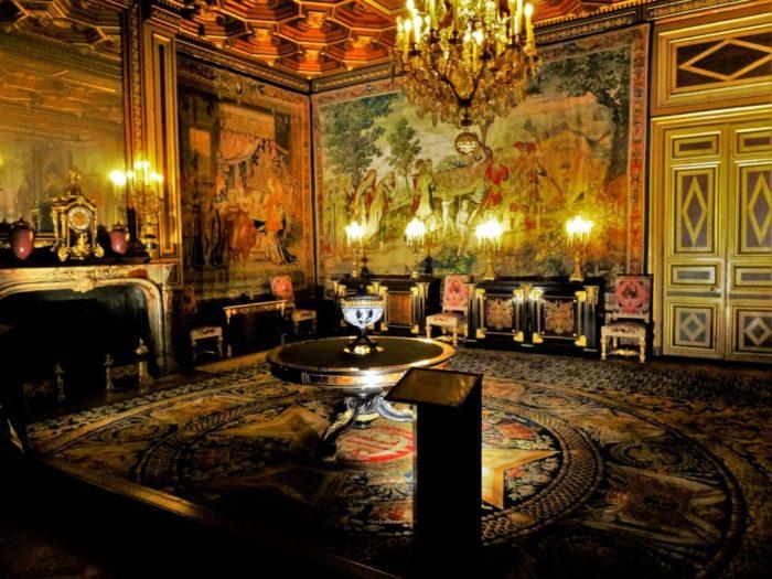 タペストリー ヘッダ画像 フォンテーヌブロー宮殿