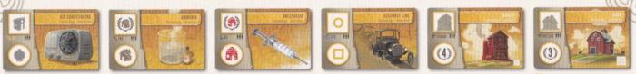 タペストリー 技術カード