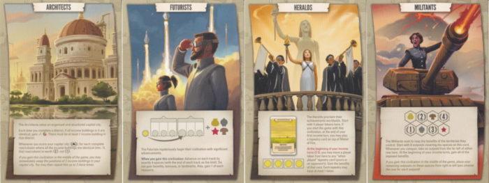 タペストリー 文明カード