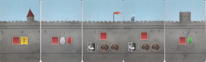 西王国のパラディン 城壁カード