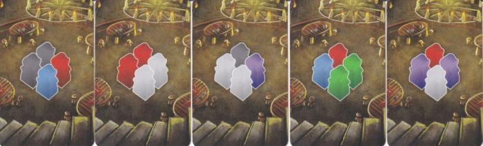 西王国のパラディン 酒場からのワーカー徴収カード