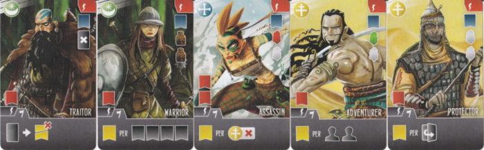 西王国のパラディン ならず者カード