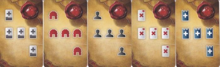 西王国のパラディン 王からの依頼カード
