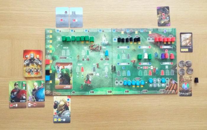 西王国のパラディン プレイヤーボードの写真