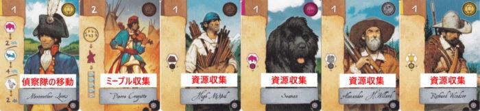 ルイス・クラーク探検隊 基本カードのイメージ