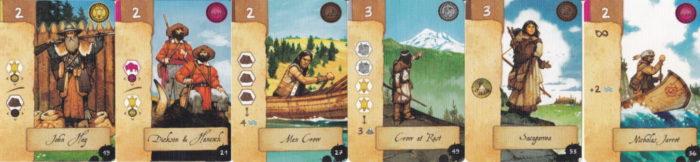 ルイス・クラーク探検隊 拡張カードのイメージ