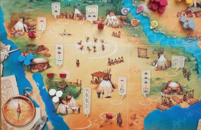 ルイス・クラーク探検隊 インディアンの村