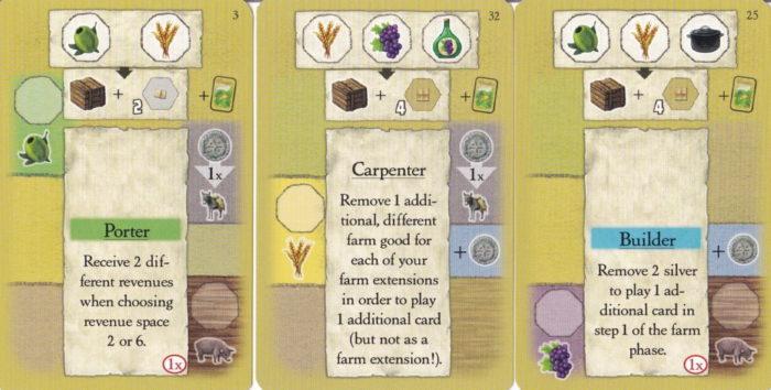 ラ・グランハ プレイするカード例