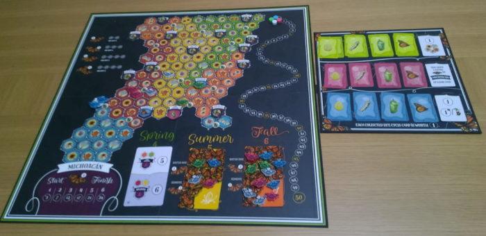 マリポーサス ゲームボードのイメージ